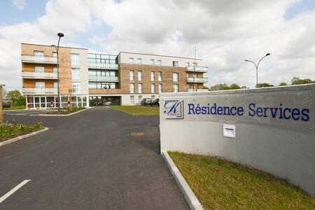 appart'hôtel T3 dans résidence services - Leilighet