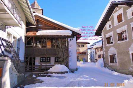 Luxuriöses Ferienhaus - Bergün - Casa