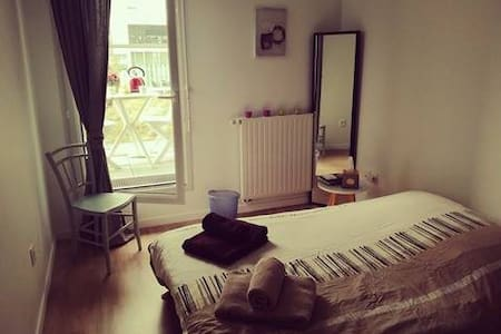 Chambre avec terrasse - Proche Gare - Centre ville - Nantes