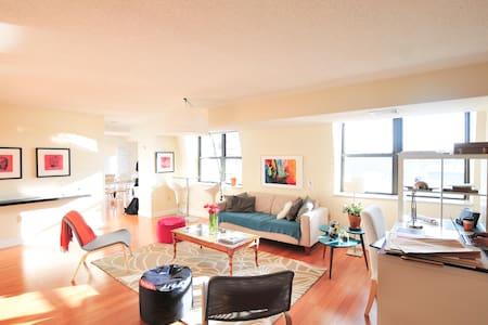 Sunny room, priv. bath MIT/Harvard - Cambridge - Apartment