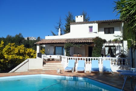 Splendide Villa piscine jardin clim - Nizza - Villa