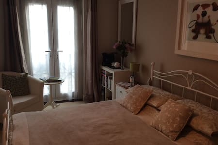 Smart room with en suite in Welwyn. - Welwyn - Casa