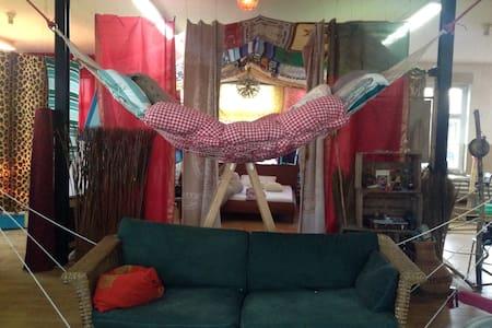 Indoorcamping - Wohnung