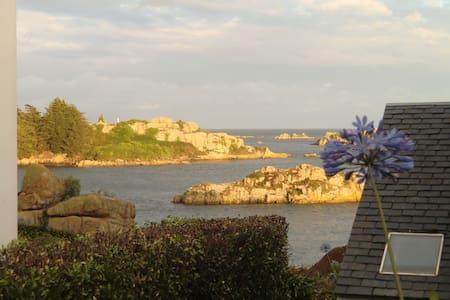 à Ti-Karreg calme et beauté assurés face à la mer - Île-de-Bréhat