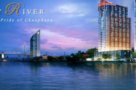 Chaopraya river front condominium - Apartment