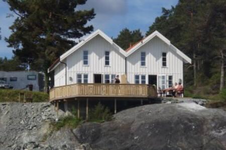 Sjøhus - Stord - Zomerhuis/Cottage