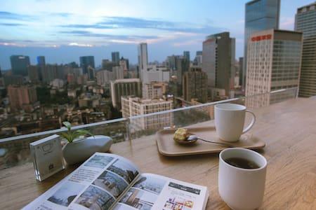 台湾超赞房东|新房源现享7折|日式简约实木|紧邻太古里|超大阳台 - Chengdu - House
