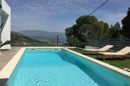 Luxurius villa with sea view - Posidonia - Villa