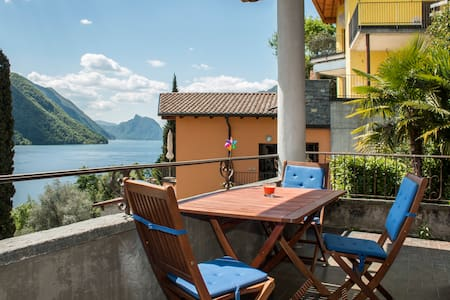 Great apartment at Lugano Lake - Cressognio, Valsolda - Wohnung
