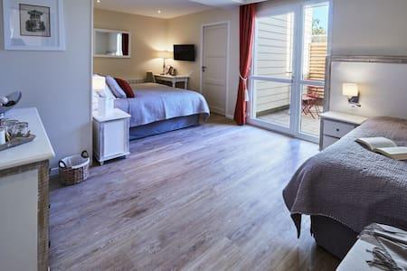 Chambre Confort Classic à Arromanches - Tracy-sur-Mer