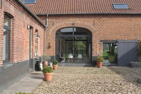 farmhouse renovated near Lille - Huis