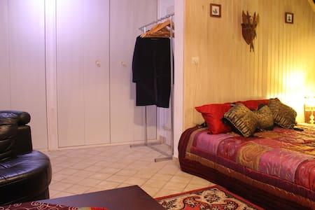 Magnifique chambre type chalet proche Paris /RER D - House