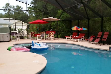 Private Room in large home near the ocean! - Palm Coast - Casa