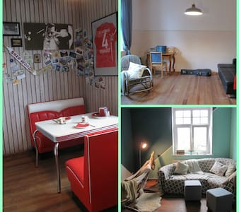 Big room in charming flat - Appartement