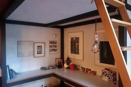 cosy indipendent room (private bath.) with garden - Rom - Villa