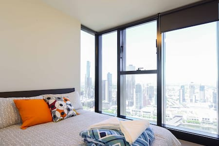 Sky High View Central CBD Apartment - Lägenhet