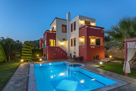Villa Alkyoni with private pool and BBQ Rethymno - House