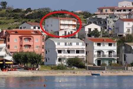 One bedroom apartment with balcony and sea view Metajna, Pag (A-527-g) - Altro