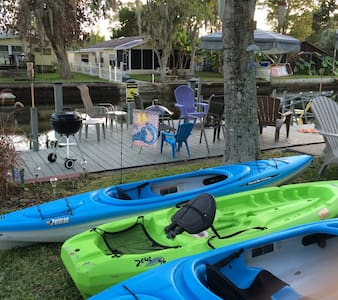 MERMAID BUNGALOW-KAYAKS & BIKES INCLUDED! - Weeki Wachee