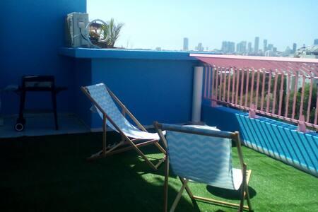 Amazing privet unit & huge balcony - Tel Aviv-Yafo - Apartment