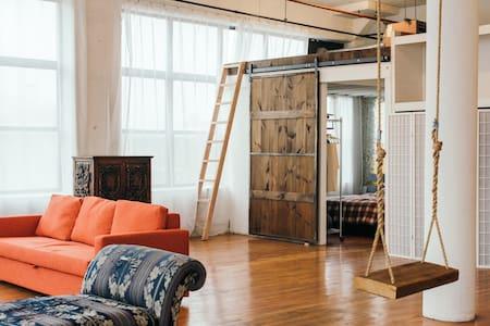 Private Room in Huge Bushwick Loft