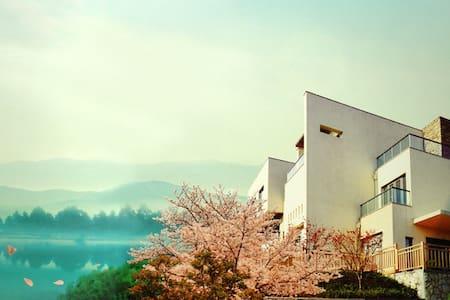温泉别墅:漱泉、看山、喫茶、会友,真正属于自己的度假方式! - Vila