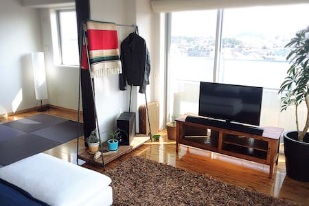 【No2】海が目の前のリゾートマンション。和室6畳の個室です。 - 藤沢市