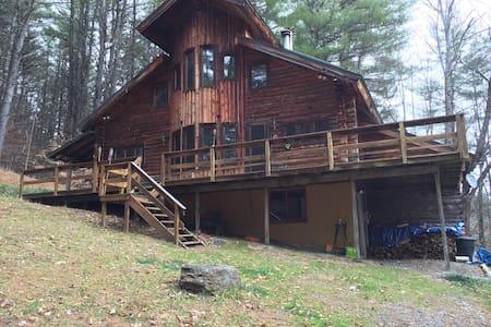Log Cabin near Stratton & Mt. Snow - Jamaica - House