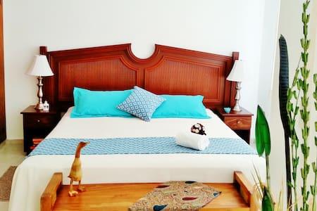CORALES B CB8 1BR OCEAN VIEW - Puerto Morelos - Apartemen