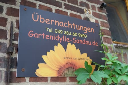 Gartenidylle in Sandau - House