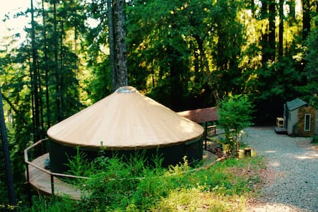 Private Redwood Retreat Temple & Camping up to 28 - Boulder Creek