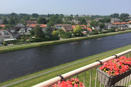 Fantastic view, lovely Leiden, historic town - Apartmen