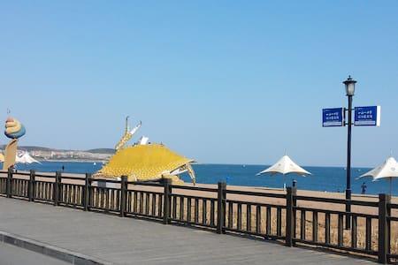 金石滩旅游度假区一室一厅精致小房/轻轨站附近/临近黄金海岸浴场 - Dalian - Lejlighed