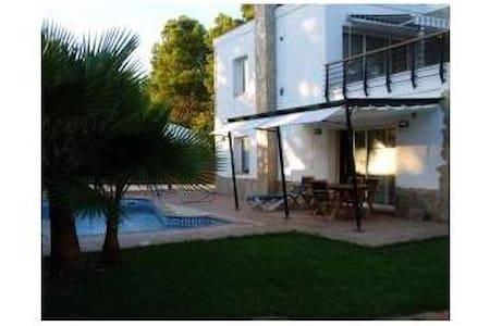 Maison style Ibiza - Piscine - Huis