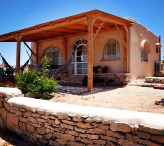 Stylish desert lodge with view - Ezuz - Casa cueva