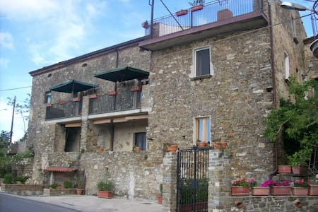 camera doppia con letto a castello - San Mauro Cilento - Bed & Breakfast