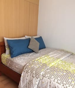 Promo Nice Cozy Furnished Condo in QC Philippines - Quezon City - Wohnung