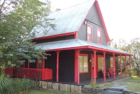 Red and black's house - Brébeuf