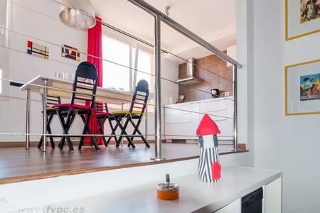 Loft Mondrian - Wohnung