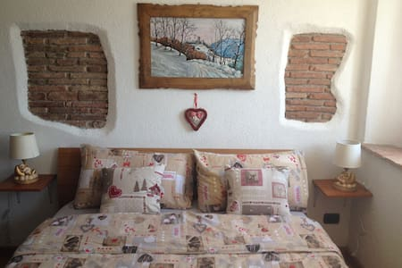 Studio overlooking the Dolomites - san gregorio nelle alpi - Apartment