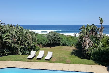 Direct Beach Access.  Large swimming pool - Maison