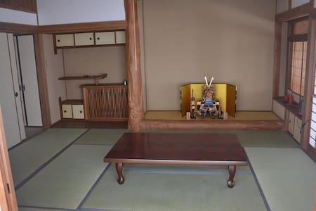 Connected tatamirooms in Arita - Arita-chō - House
