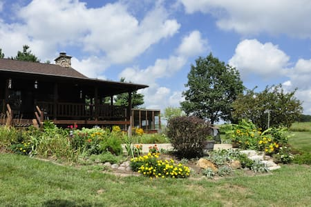 Kay's Log Cabin - Riverton - Blockhütte