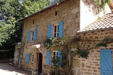 Delightful French farmhouse - Saint-Julien-le-Petit