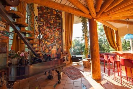 Swedish Artistic House - 20min drive to Gothenburg - Villa