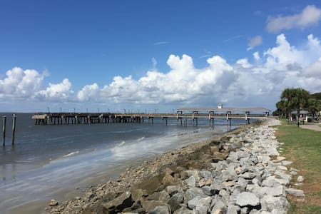copacabana SSI walk to village - Saint Simons Island - 公寓