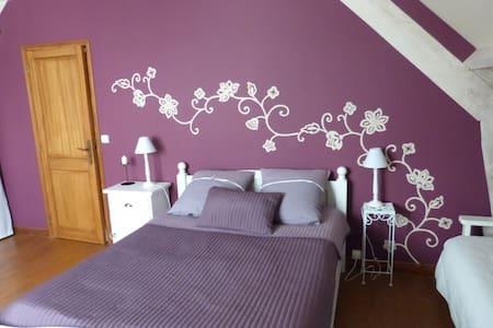 Esprit purple - Changis-sur-Marne - Inap sarapan