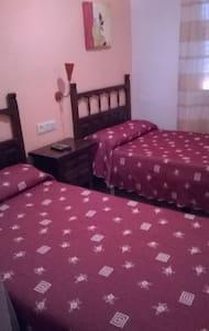 habitacion dos camas - Calanda - Appartement