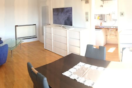 Helle Möblierte Wohnung in Hof - Hof - Pis