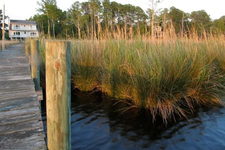 Waterfront - Nature lovers paradise - New Bern - Huis